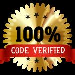 100% Coupon Code Verified