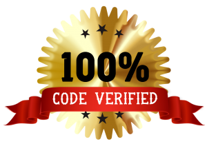 100% Coupon Code Verified